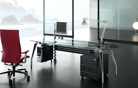 glass top office desk office glass desks home office glass desk furniture contemporary