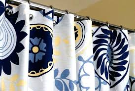 Circles Shower Curtain Navy Blue Shower Curtain Blue Shower Curtain With Circles