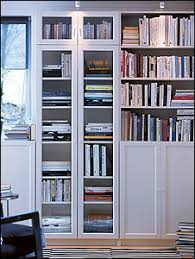 Bookcases For Office White Ikea Billy Bookcase With Doors My Final Bookcase Home
