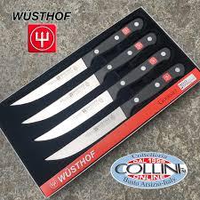 German Kitchen Knives Wusthof Wusthof Germany Gourmet 4 Steak Knives 4050 12 Kitchen Knives