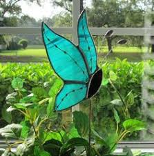 stained glass butterfly l lt stained glass grey cat sun catcher light catcher made with brown