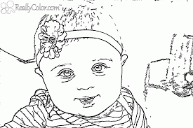 baby coloring pages printable coloring home
