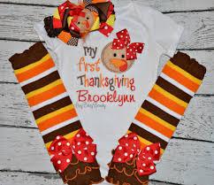 baby thanksgiving thanksgiving bodysuit