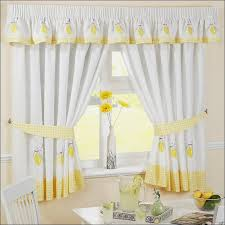 Contemporary Kitchen Curtains And Valances by Kitchen Turquoise Kitchen Curtains Green Curtains Valance And
