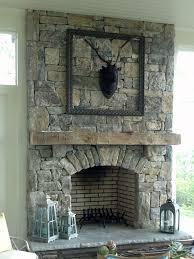 remarkable white flagstone fireplace images decoration inspiration