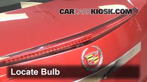 cadillac cts third brake light third brake light bulb change cadillac cts 2008 2015 2010
