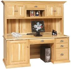 Computer Hutch Desk With Doors 64 Best Amish Office Furniture Images On Pinterest Amish Office