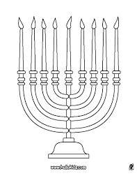 menorah coloring pages hellokids com