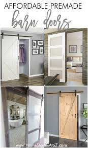 affordable premade barn doors home stories a to z