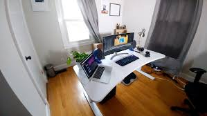 Make A Standing Desk by Does A Standing Desk Really Make A Difference Hands On With The