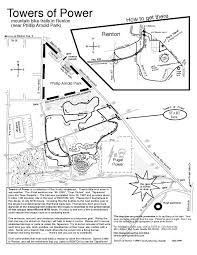 Renton Washington Map by Tapeworm Trail Network