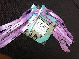 personalized ribbons bows gift baskets party favors