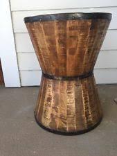Drum Accent Table Drum Table Ebay