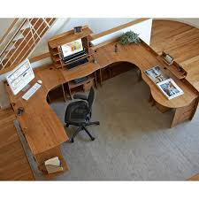 no tools assembly desk 47 x 47 bamboo home office corner desk no tools assembly