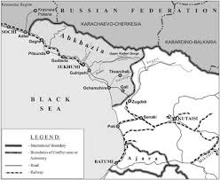 map of abkhazia abkhazia a new investment land