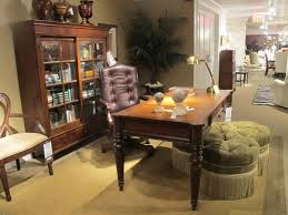 Dark Wood Bookshelves by Bedroom Dark Wood Desk With Ethan Allen Furniture And Table Lamp