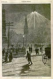 new york lighting company file brush company arc light madison square new york 1882 png