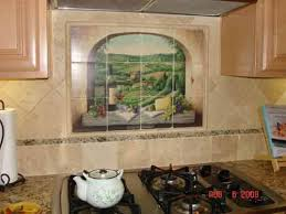 Best Kitchen Backsplash Images On Pinterest Tile Murals - Tuscan kitchen backsplash ideas