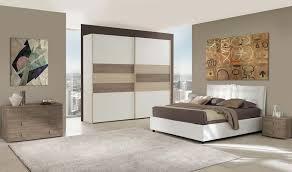 da letto moderna completa da letto matrimoniali in larice bianco