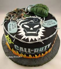 call of duty birthday cake call of duty black ops birthday cake cake by cakes rock