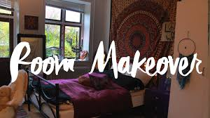my room makeover bohemian u0026 hippie inspired youtube