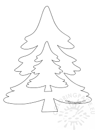 patterns for felt tree ornaments coloring page