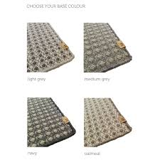 hand woven rugs made to order 75 x 230 by waffle design