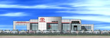 toyota dealership hanlees auto group
