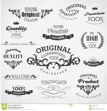 vintage design vintage design elements stock vector image of calligraphy 35216491