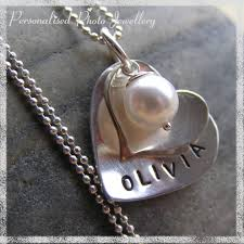 Necklaces With Children S Names Personalised Photo Jewellery Latest Commission Personalised