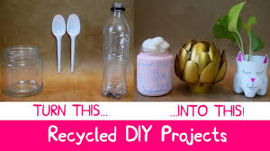 diy room decor with recycled materials at home easy and