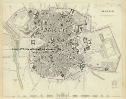 Madrid Map Welcome To Historynyc Historical Maps Poster Books And Custom