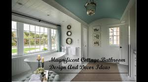magnificent cottage bathroom design and decor ideas youtube