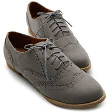 womens grey boots sale ollio womens shoes ballet flats loafers faux suede wingtip oxford
