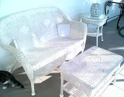 White Wicker Outdoor Patio Furniture Photo Of White Wicker Patio Furniture Home Decorating Concept