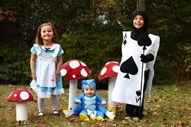 family alice wonderland costumes easy diy tutorials
