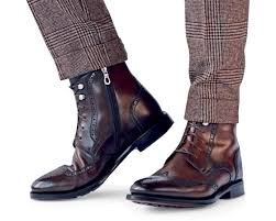 fashion motorcycle boots give your suit the boot footwear clothes and man style