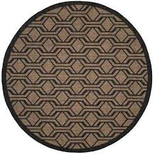 Safavieh Outdoor Rugs Safavieh Round Outdoor Rugs Rugs The Home Depot