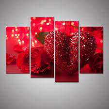 Heart Home Decor Online Get Cheap Red Heart Picture Aliexpress Com Alibaba Group