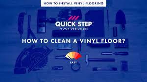how to clean a vinyl floor tutorial by