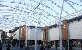 shoing canap etfe canopy ayr central shopping centre architen landrell