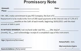 8 mortgage promissory note u2013 free sample example