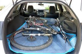2013 honda accord trunk space does the bike fit 2010 honda accord crosstour term road test