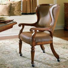 Wingback Dining Room Chairs Hooker Furniture Waverly Place Tall Wing Back Upholstered Caster