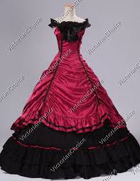 Halloween Costumes Southern Belle Belle West Gown Victorian Saloon Dress Vampire Halloween Costume