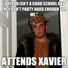 Party Hard Memes - dayton isn t a good school and they don t party hard enough for me