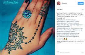 move over flash tattoos glitter henna designs will give you