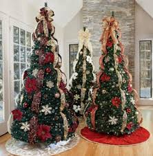 interior design pre decorated trees delivered pre