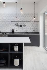 Gray Tile Kitchen - queensbridge road hackney contemporary kitchen london by