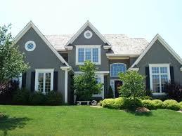 exterior house paint colors decoration dark brown exterior color
